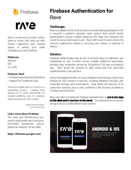 Rave の事例紹介