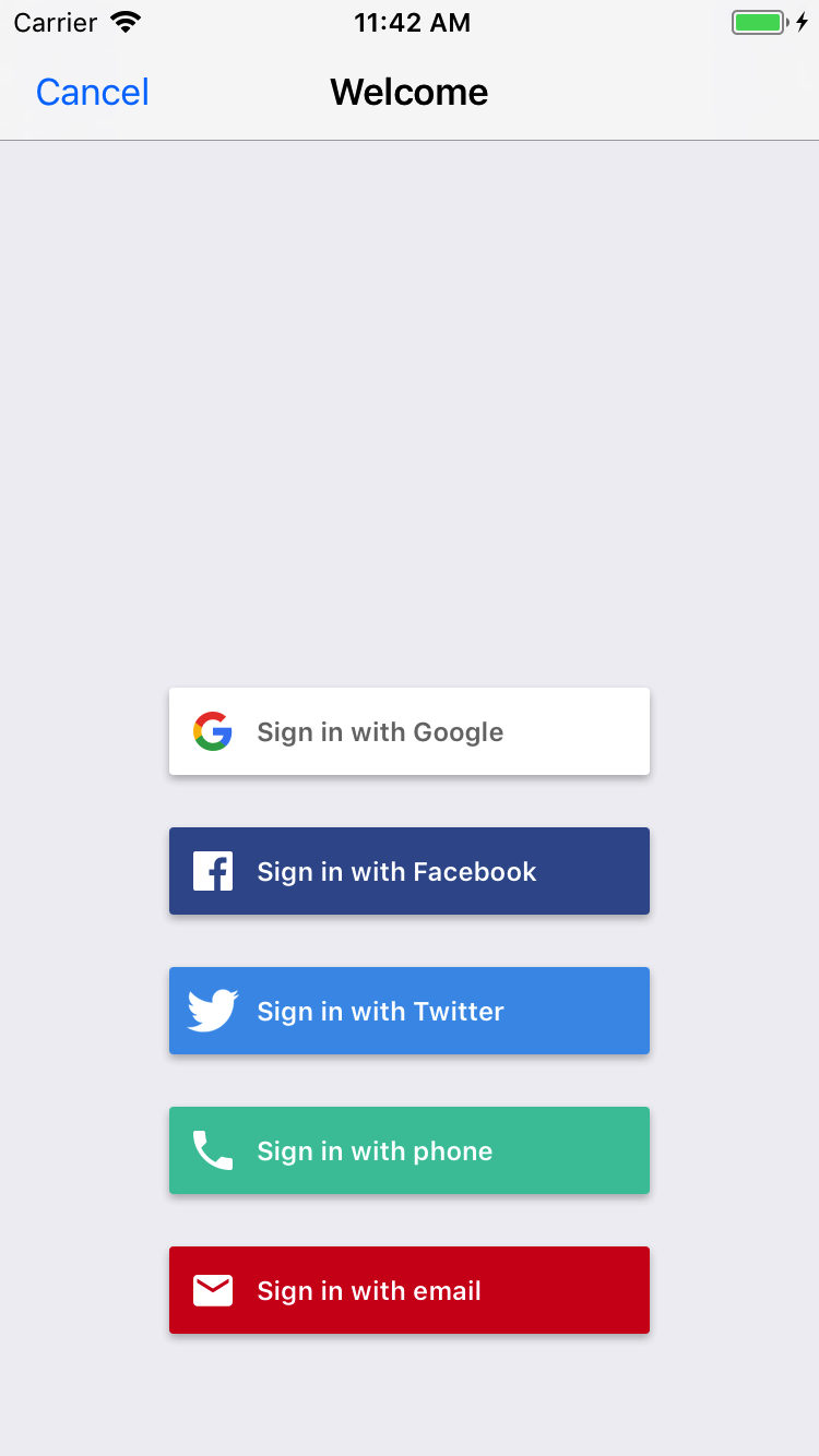 Easily Add Signin To Your IOS App With FirebaseUI Firebase - Google docs sign in