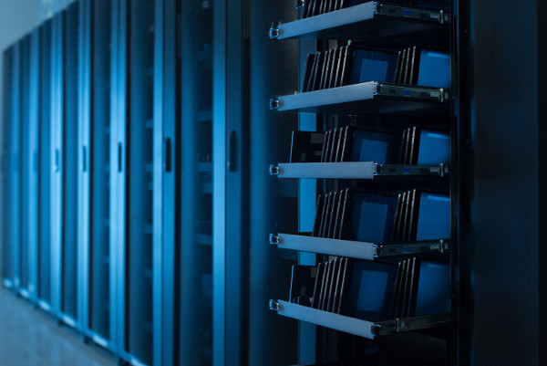 Physical devices in a data center