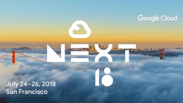 Google Cloud Next 2018 illustration