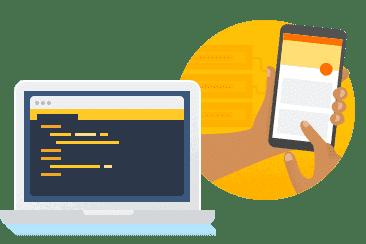 Desenvolver e testar o seu app