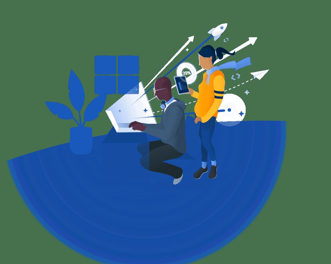 프로젝트에서 서로를 지원하는 사용자