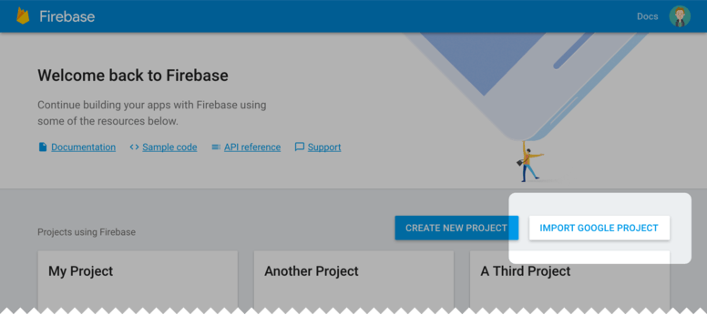 Add Firebase to a Google Developer Project