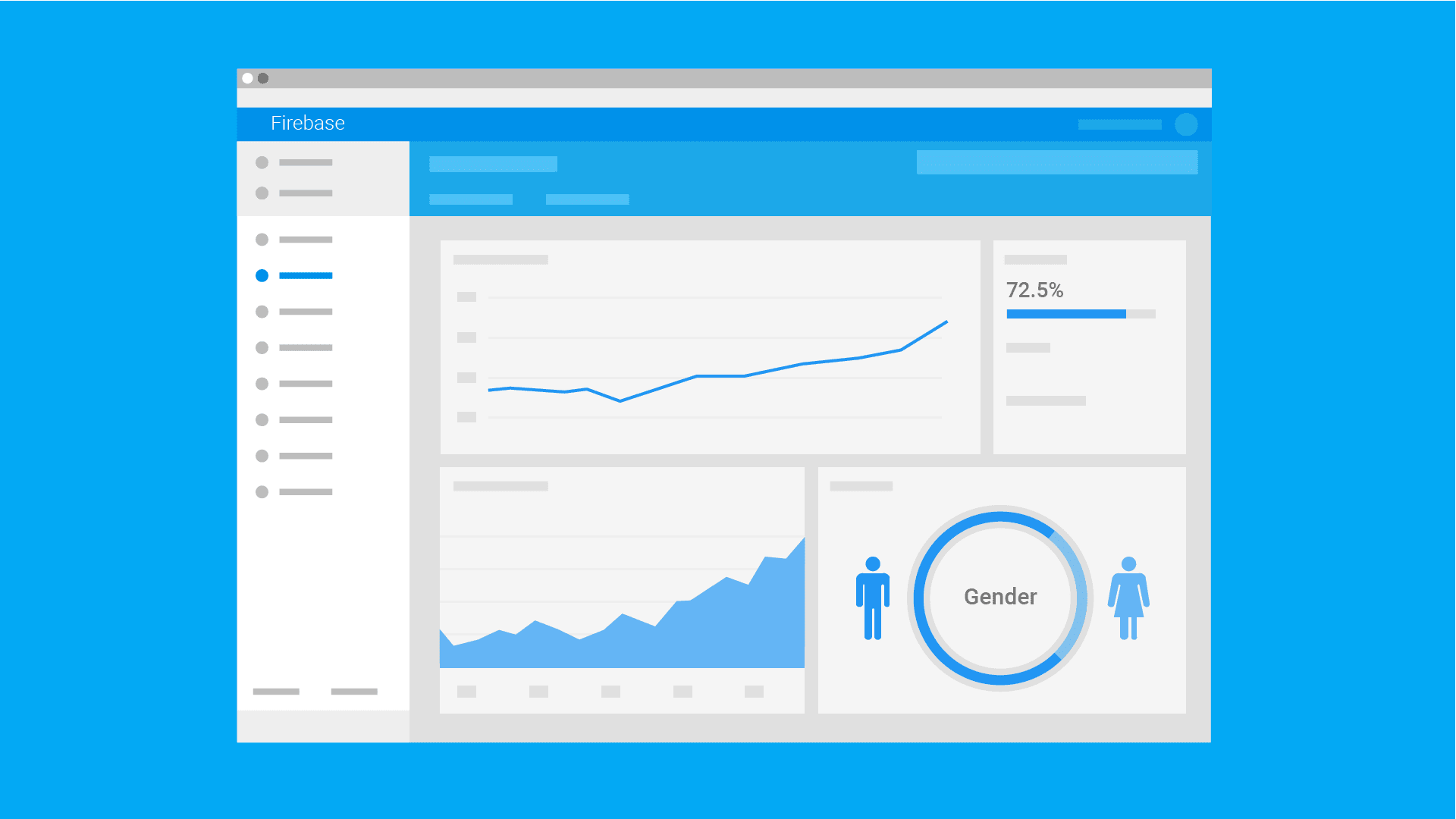 Illustration of analytics dashboard
