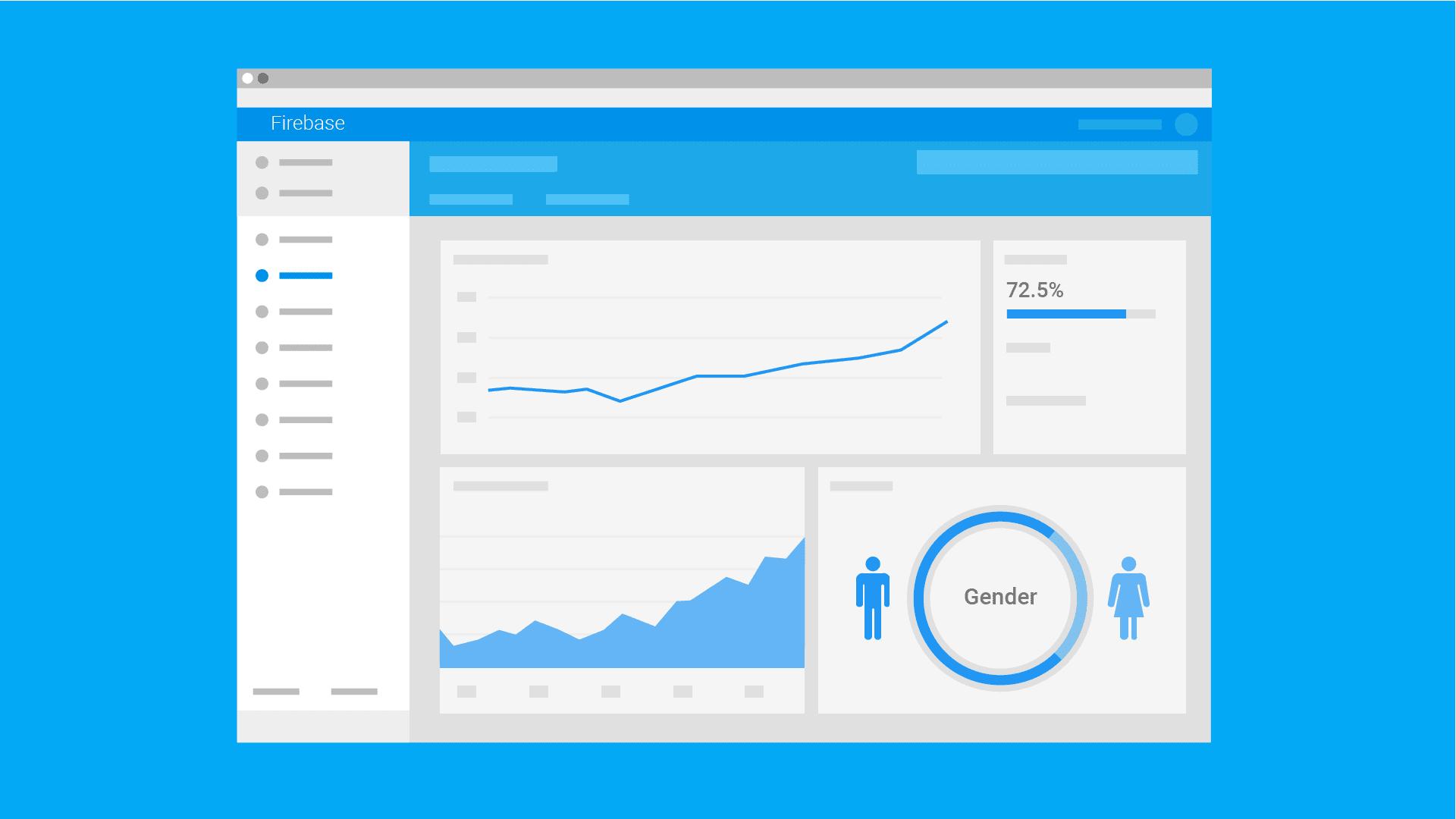 Illustration of analytics dashboard