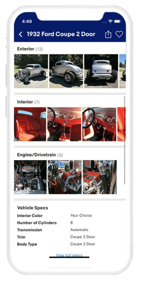 Screenshot of eBay