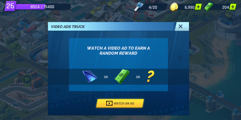 Screenshot di Gameloft