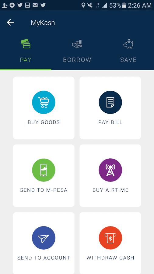 Screenshot of KCB Group