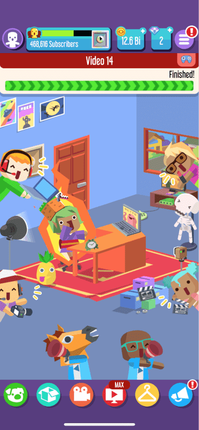 Screenshot of Tapps Games